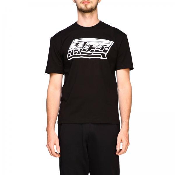 Con By Corte Rnr09 Maniche shirt McqueenA Alexander Mcq Maxi Uomo 291571 T Stampa wy08PvNmnO
