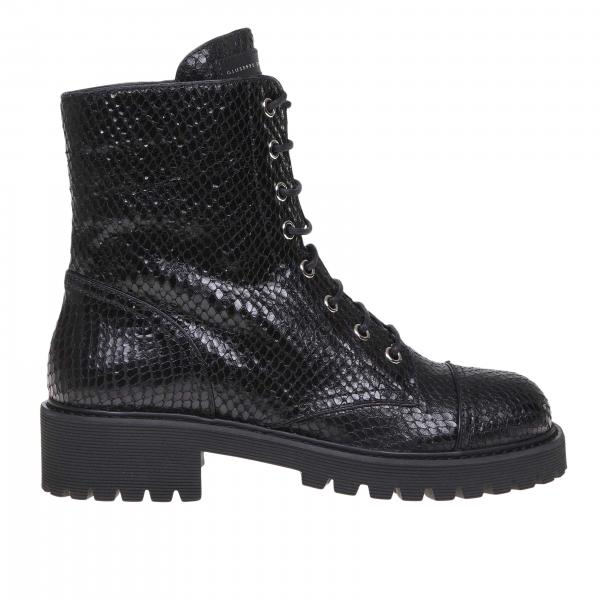 Flat ankle boots women Giuseppe Zanotti Design