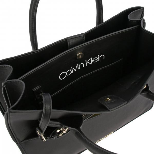Donna Pelle Calvin Borsa Mini Con KleinIn K60k605586 Ecologica Logo A5cjqS3L4R