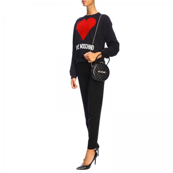 Jc4065pp18la0 Donna Con Love Metallico Logo Mini MoschinoTrapuntata Borsa sQCrthd