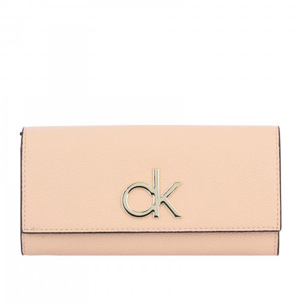 Portafoglio Calvin Klein con maxi monogramma CK