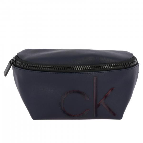 Marsupio Calvin Klein con maxi logo CK