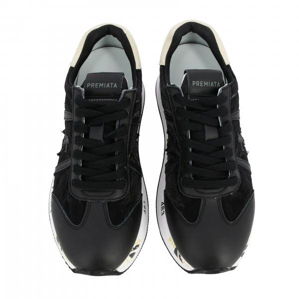 Sneakers Donna Premiata Nero | Sneakers Donna Premiata | Sneakers Premiata Conny