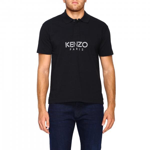 Polo Kenzo basic a maniche corte con logo