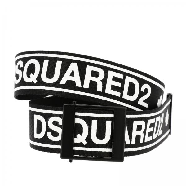 Dsquared2 Junior logo印花腰带
