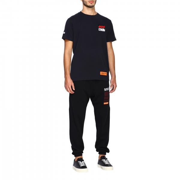 Corte Con T Maniche shirt Uomo Heron Stampe Hmaa004f19760004 PrestonA wkXZiOTPlu