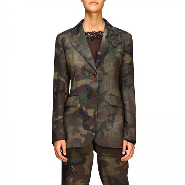 Veste Ermanno Scervino en tissu camouflage