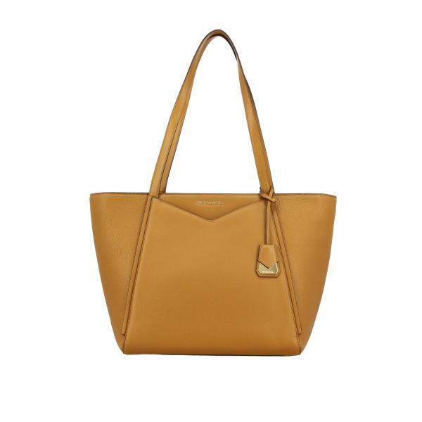 Whitney leather bag with logo