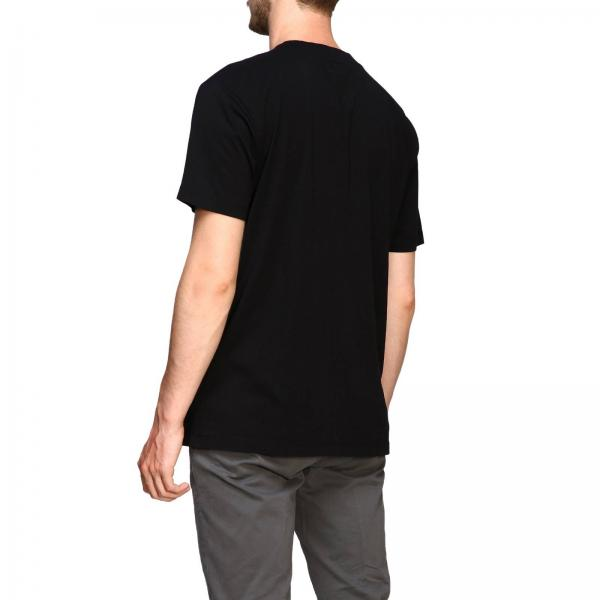Burlon Cmaa018de19001099 Marcelo T Logo Corte NeroA Maniche shirt Con Uomo eBdorCWx