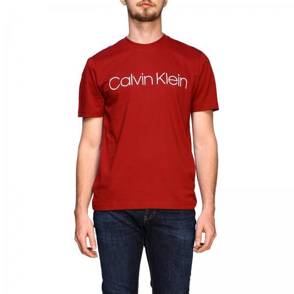 Calvin KleinA Uomo Corte T Con Logo shirt Maniche K10k103078 w8kOPXn0N
