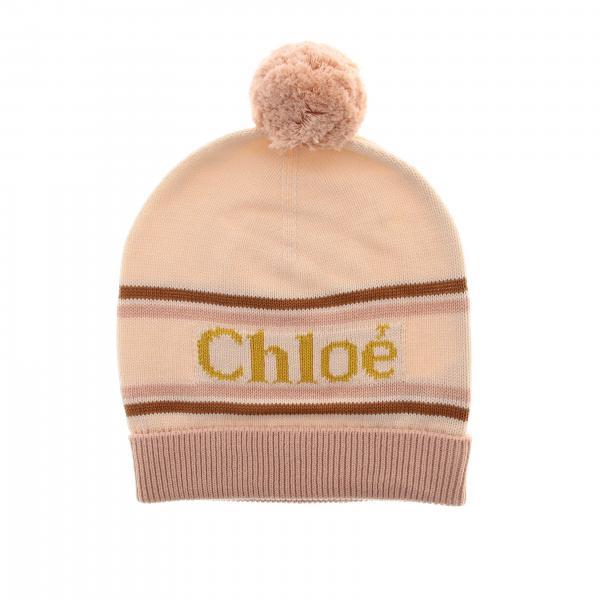 Cappello ChloÉ con logo e pompon