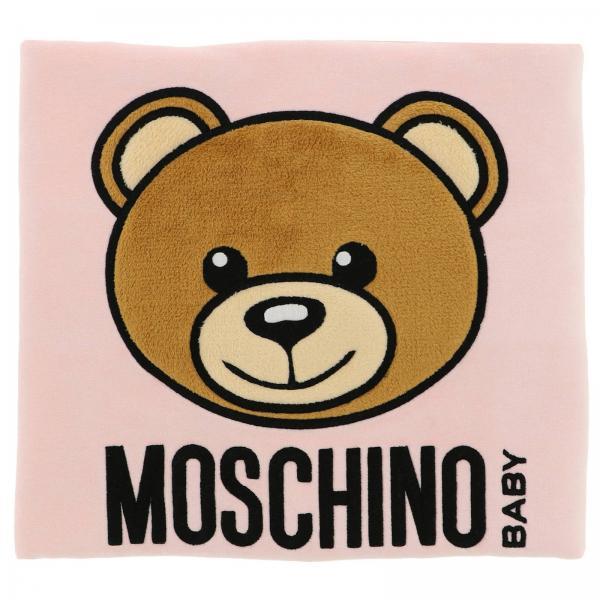 Copertina Moschino Baby con maxi Teddy