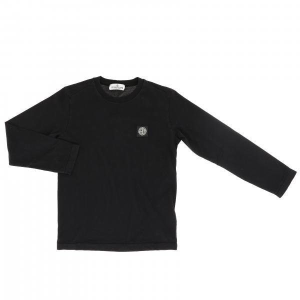 Stone Island basic long sleeve t-shirt with mini logo