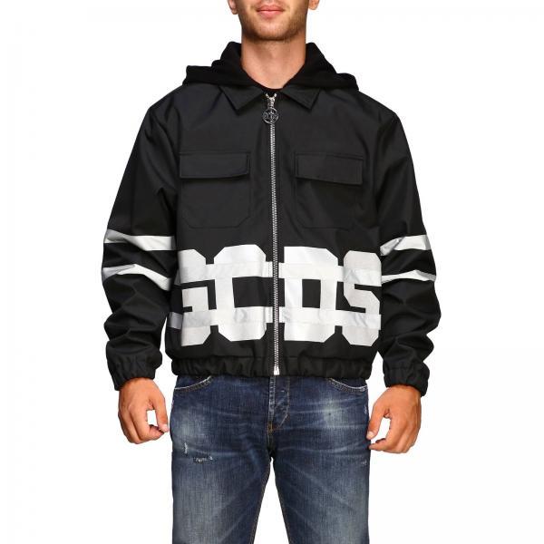 Куртка GCDS из нейлона с логотипом