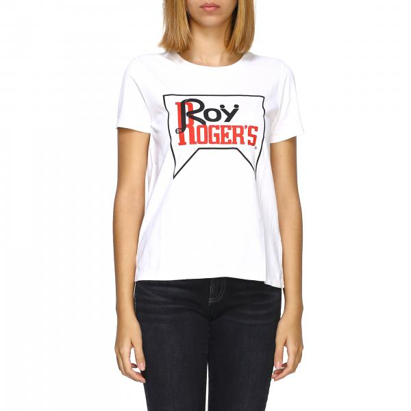 T-shirt Roy Rogers a maniche corte con logo