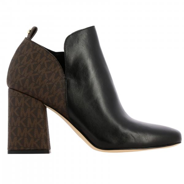 Michael Michael Kors ankle boots with MK monogram