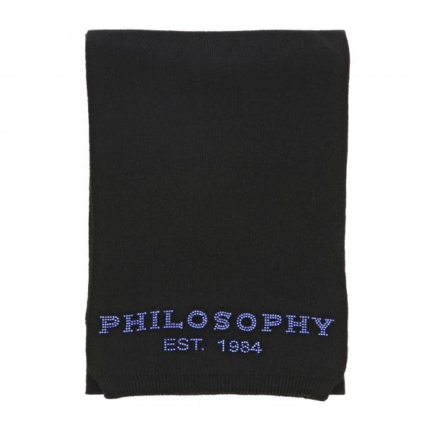 Sciarpa Philosophy Di Lorenzo Serafini con logo