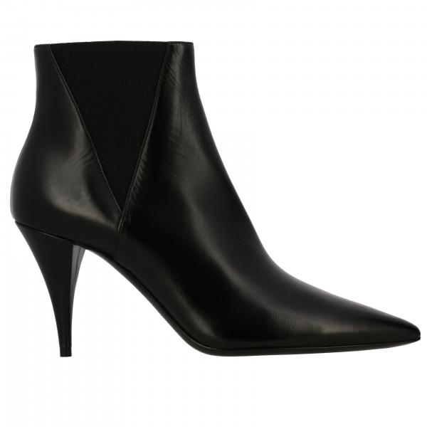 Flat ankle boots Saint Laurent 592447 1FZ00