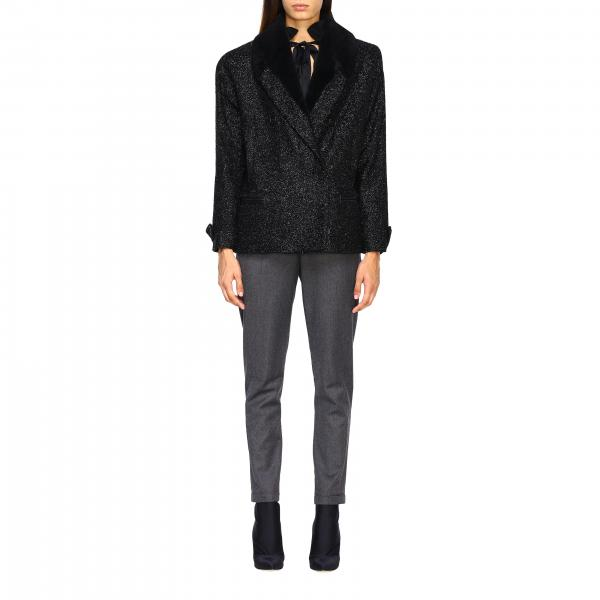 Cappotto Saint Laurent 573656 Y963V