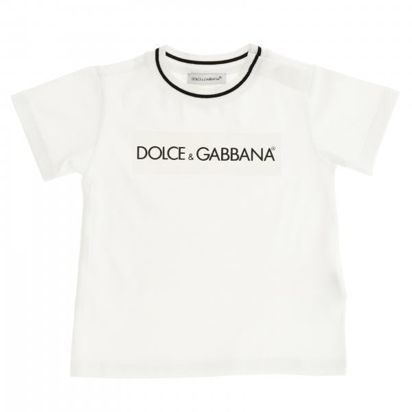 Dolce & Gabbana short-sleeved T-shirt with logo print