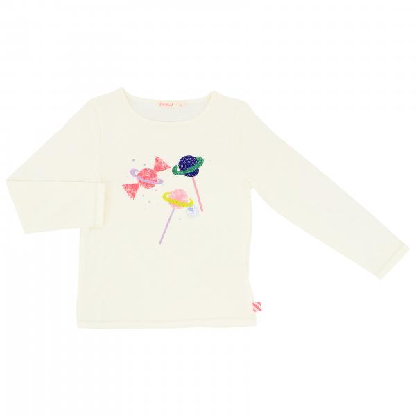 T-shirt Billieblush a maniche lunghe con stampa