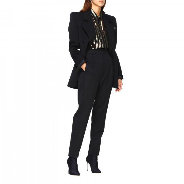 Pantalone Saint Nero588966 Donna Laurent Y173q 5AL3Rq4jSc