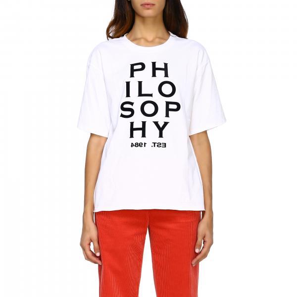 T-shirt femme Philosophy Di Lorenzo Serafini