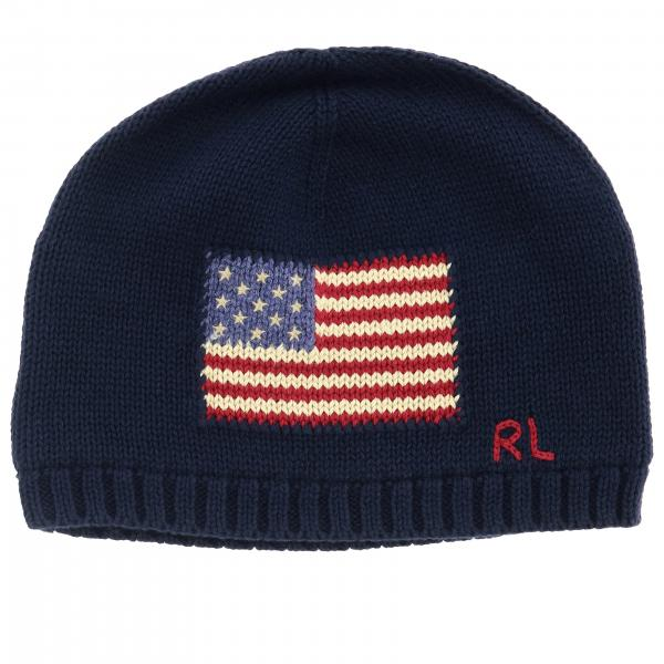 Cappello Polo Ralph Lauren Toddler con bandiera