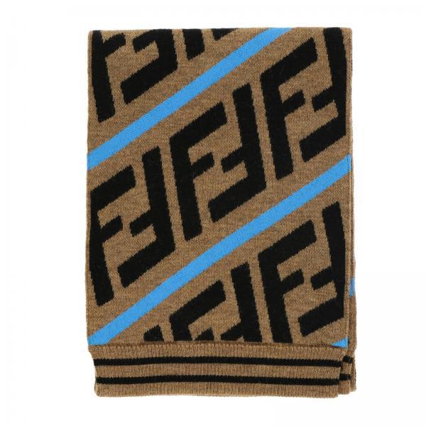 Sciarpa Fendi con maxi monogramma FF