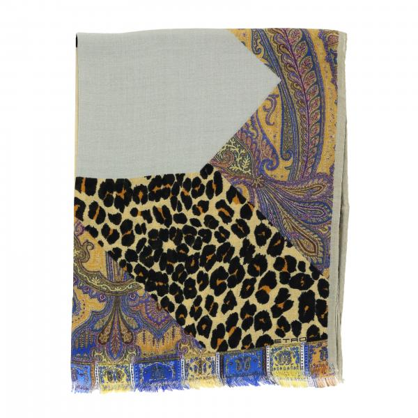 Etro scarf with print