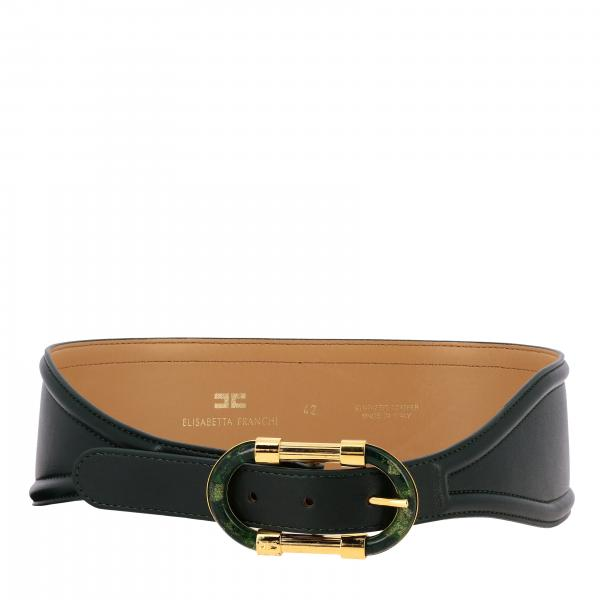 Cintura Elisabetta Franchi con fibbia metallica