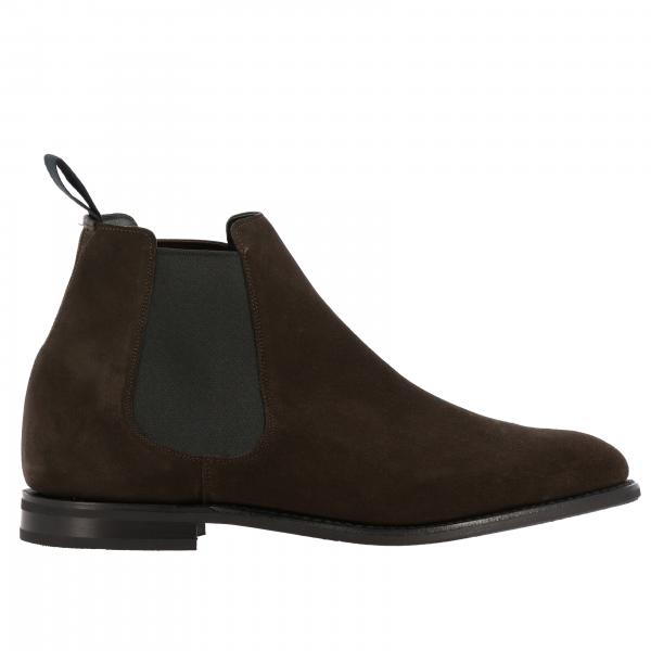 Stivaletto Church's slip on in pelle scamosciata