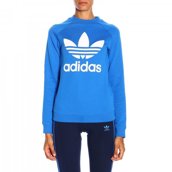 Felpa Adidas Originals a girocollo con logo