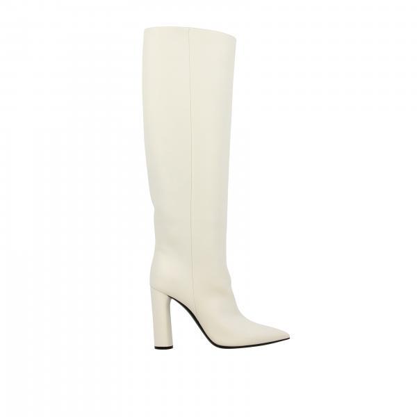 Casadei Stiefel aus Glattleder mit Maxi-Absatz