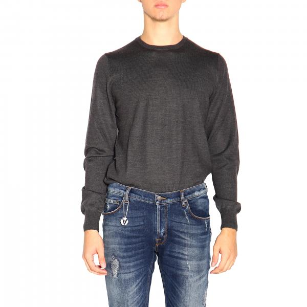 Fay long-sleeved basic crew neck sweater