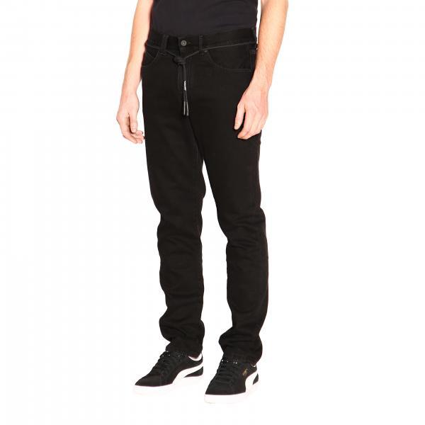White Off NeroOmya011e19e54045 Jeans Uomo PwOkn0