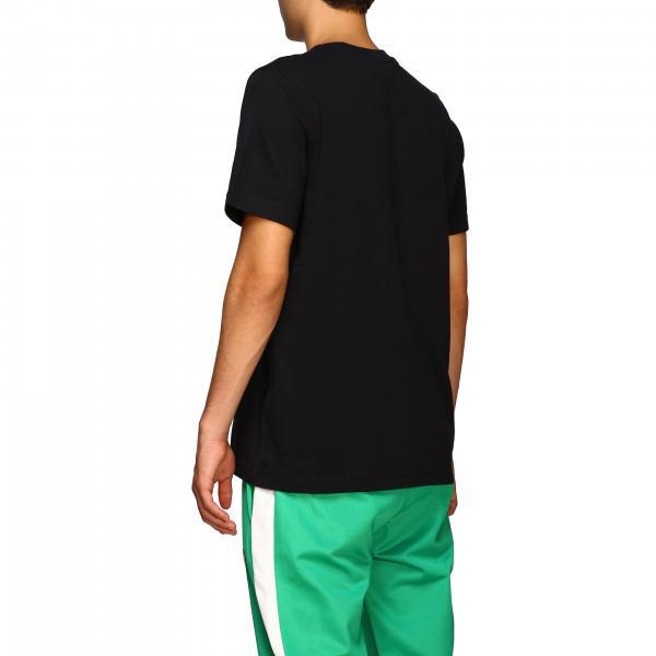 Stampa Con shirt Cw0709 Adidas Maniche Maxi NeroA Logo Originals Uomo Corte T thCrsxQd