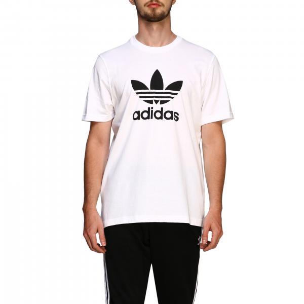 T-shirt à manches courtes Adidas Originals avec maxi logo imprimé