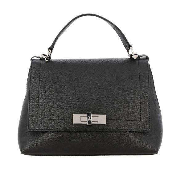 Patrizia Pepe bag in grained leather with a hook