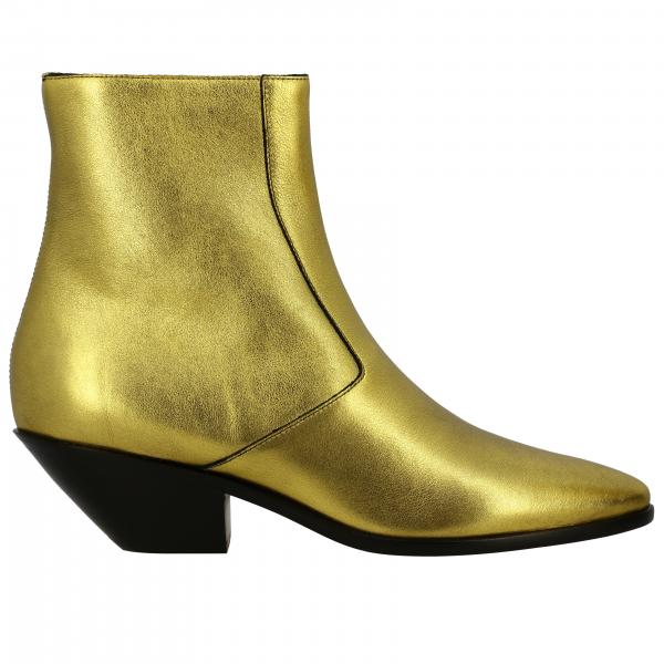 Flat ankle boots Saint Laurent 579127 06S00