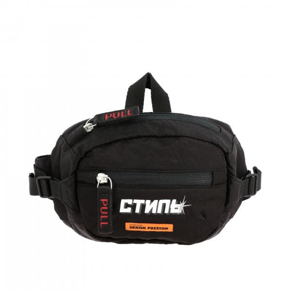 Heron Preston belt bag in canvas with maxi logo