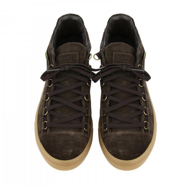 Con NapoliClassica Camoscio Sneakers Gomma Ortisei Uomo Barba Suola In Yf6g7bvy