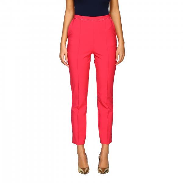 Pantalone Elisabetta Franchi slim con zip