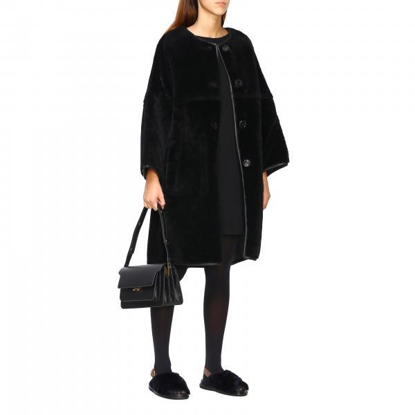 A Trunk MarniBorsa Borse Sbmpn09n01lv520 Con Tracolla Donna In Saffiano Pelle IYWEDH9e2