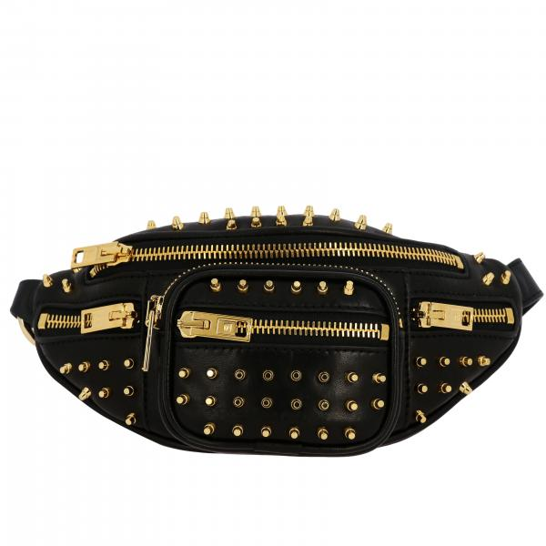 Marsupio Alexander Wang mini in pelle con borchie all over