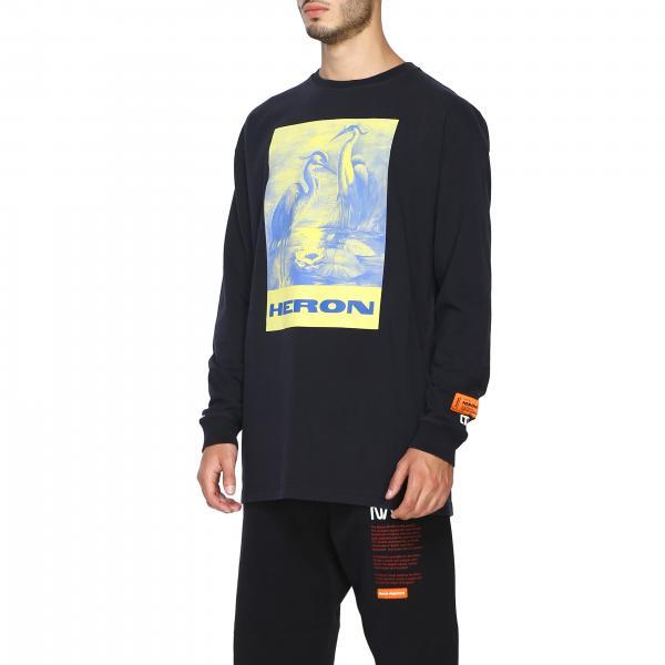 Girocollo A Con Preston T Heron shirt Stampa Uomo Hmab005f19600008 NeroMaglia Maxi XkOPuTZi