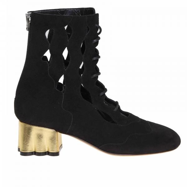 Heeled ankle boots Marni TCMS003404LS025
