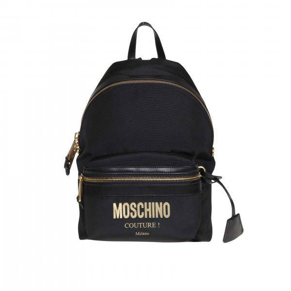 8205 Donna Nero7638 Zaino Couture Moschino rhCstQd