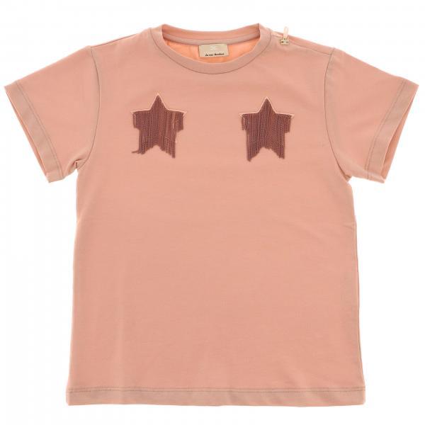 T-shirt Elisabetta Franchi a maniche corte con stelle