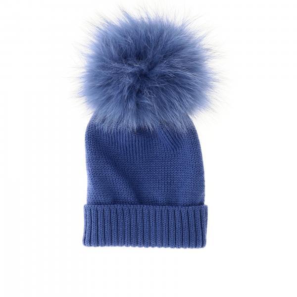 Cappello Catya con maxi pompon
